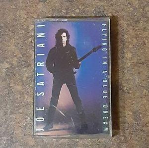 """Joe Satriani """"Flying In A Blue Dream"""" Cassette Tap"""